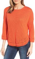 Caslon Shirttail Hem Knit Pullover (Regular & Petite)