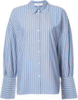 Tibi striped shirt