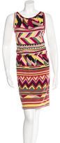 M Missoni Abstract Print Sleeveless Dress