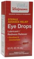 Walgreens Advanced Relief Eye Drops