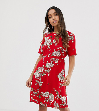 Y.A.S Angelia floral print dress