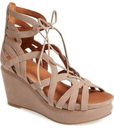 Gentle Souls 'Joy' Lace Up Nubuck Sandal (Women)