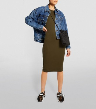 Good American Sleeveless Midi Dress