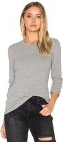 James Perse Brushed Jersey Long Sleeve Tee