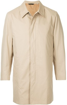 Gieves & Hawkes Fitted Trench Coat