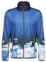 HUGO BOSS Printed Bomber Jacket Jocean XXL Blue