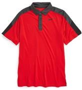 Nike Boy's 'Team Court' Dri-Fit Tennis Polo