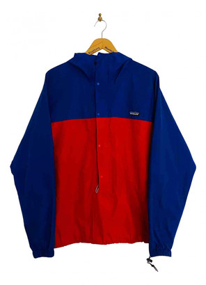 Patagonia Blue Synthetic Jackets