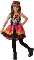Very Child Sugar Skull Day Of The Dead Halloween Costume