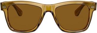 Oliver Peoples Oliver Sun sqaure-frame sunglasses