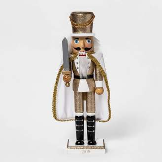 "Wondershop 14"" x 3.5"" Traditional Nutcracker Gold - WondershopTM"