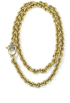 Elizabeth Cole Thorton Necklace Gold