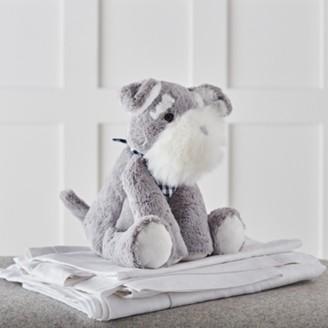 The White Company Stanley Schnauzer Medium Toy, Grey White, One Size