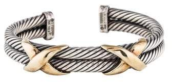 David Yurman Cable Classics Double X Cuff