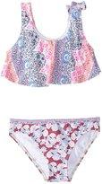 O'Neill Girls' Cruz Ruffle Tank Bikini Set (2T6) - 8154891