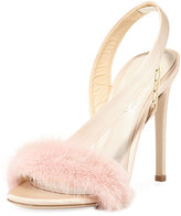 Olgana Paris Amazone Mink Fur Sandal