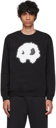 McQ Black Padded Mad Chester Sweatshirt