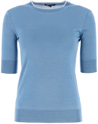 Loro Piana Crewneck Short-Sleeved Sweater