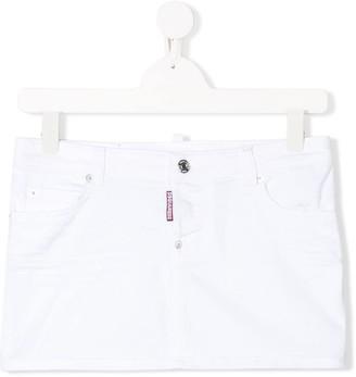 DSQUARED2 TEEN denim miniskirt