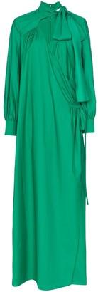 Rosie Assoulin Wrap Maxi Dress