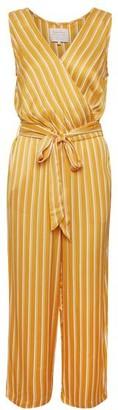 Part Two - Raja Striped Jumpsuit - Yellow / DK 36 - UK 10