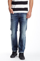 Diesel Safado Distressed Straight Leg Jean