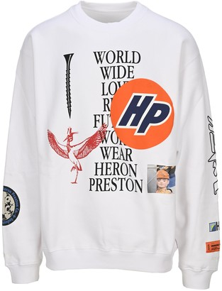Heron Preston Collage Print Sweatshirt