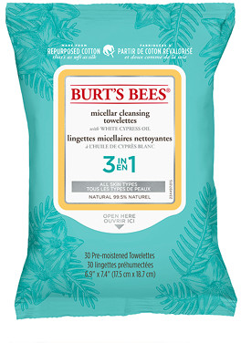 Burt's Bees Micellar Cleansing Towelettes x30