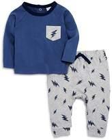 Bloomie's Boys' Lightning-Print Shirt & Joggers Set, Baby - 100% Exclusive