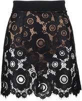 For Love & Lemons SONYA Mini skirt black