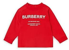 Burberry Baby Boy's Mini Griffon Long-Sleeve Shirt