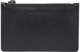 Ann Demeulemeester Logo Embossed Zipped Wallet