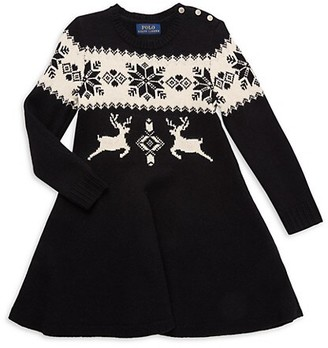 Polo Ralph Lauren Little Girl's Snowflake Dress