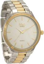 MC M&c Ferretti Men's | Stainless Steel Two-Tone Dial Watch | FT14301