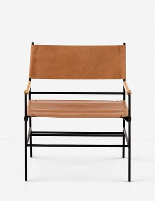 Lulu & Georgia Marlo Leather Accent Chair