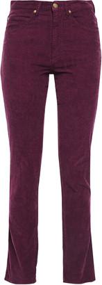 BA&SH Cotton-blend Corduroy High-rise Straight-leg Pants