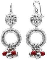 Jules B Red Ring - with Drop Bead Statement Earrings