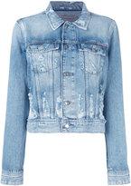 Calvin Klein Jeans denim jacket - women - Cotton - XS