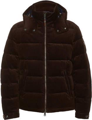 Ralph Lauren Skidmore Hooded Quilted Cotton-Corduroy Jacket