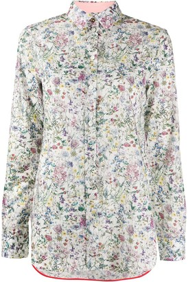 Paul Smith floral fitted shirt