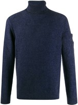 C.P. Company roll neck knitted jumper