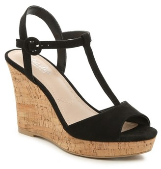 Charles by Charles David Latin Wedge Sandal