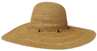 Piper Beaded Trim Floppy Hat Summer Hats
