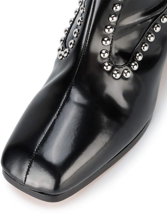 Maryam Nassir Zadeh Kiki studded knee-length boots