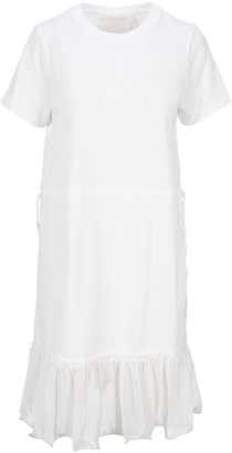 See by Chloe Drawstring Waist T-Shirt Dress