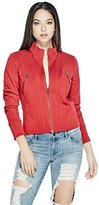 GUESS Women's Long Sleeve Avalene Jacket
