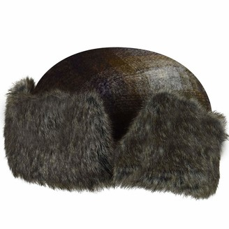 Bailey Of Hollywood Men's ROVAL Textured Wool Trapper with Faux Fur Lining