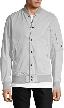 G Star Raw Cotton-Blend Bomber Jacket