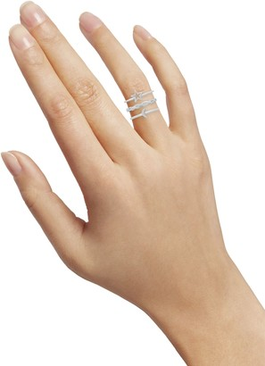 Sterling Forever 3-Piece Sterling Silver Celestial Stackable Ring Set