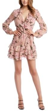 Bardot Frill Floral A-Line Dress